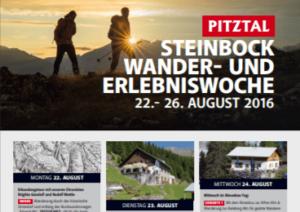 Pitztal tourist bureau brochure (2016)