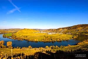 Along the German river Moselle