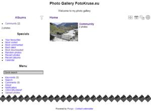 piwigo site without a theme style file
